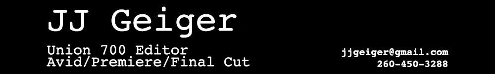 JJ Geiger – Union 700 Editor
